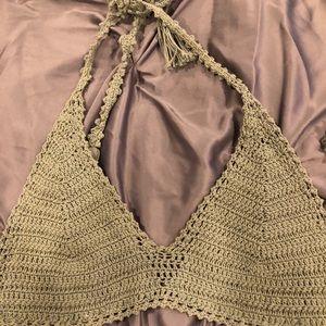 owl fish Tops - Crochet top